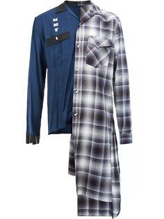 asymmetric shirt Maison Mihara Yasuhiro