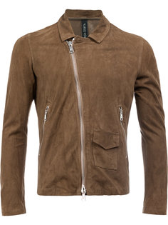 slim-fit biker jacket Giorgio Brato