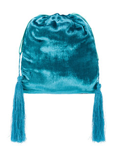 velvet pouch bag Attico