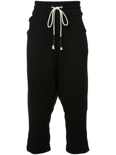 укороченные спортивные брюки Mostly Heard Rarely Seen
