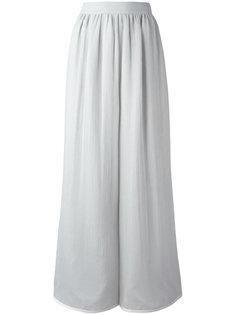брюки-палаццо со сборками у пояса Giorgio Armani