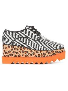 ботинки Elyse с леопардовым рисунком Stella McCartney