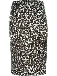 юбка с принтом  Norma Kamali