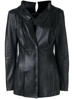 fitted long sleeve jacket Yohji Yamamoto Vintage