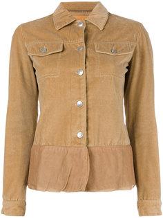velvet sheer trim jacket Helmut Lang Vintage