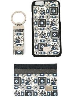 чехол для iPhone 6, визитница и брелок Dolce & Gabbana