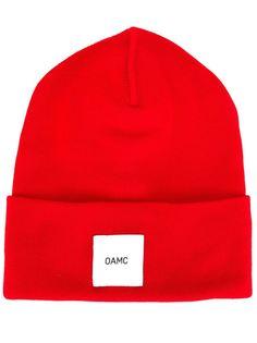 шапка-бини с логотипом Oamc