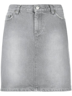 short denim skirt Helmut Lang Vintage
