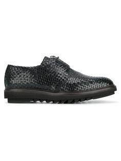 туфли с плетеной поверхностью Dolce & Gabbana