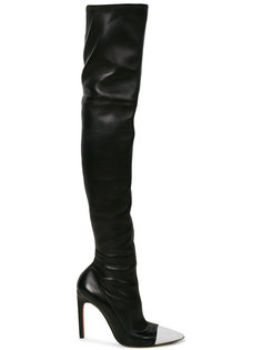 ботфорты с контрастным носом Givenchy