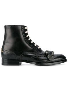 ботинки-броги Queercore Gucci
