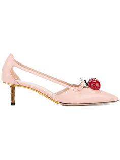 декорированные туфли Unia  Gucci