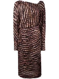 платье с V-образным вырезом сзади Tom Ford