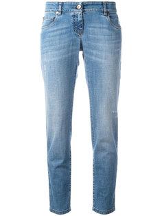 прямые укороченные джинсы Brunello Cucinelli