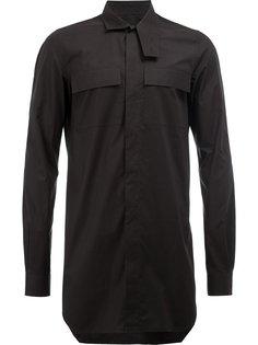 удлиненная рубашка  Rick Owens