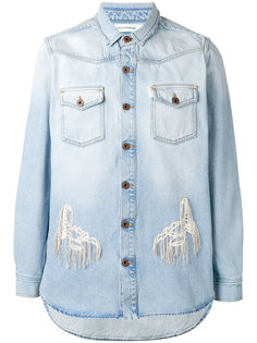 distressed denim shirt Off-White