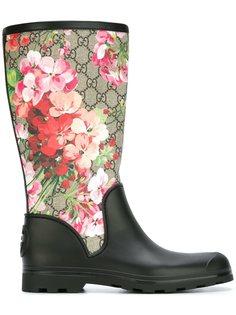 резиновые сапоги GG Blooms  Gucci