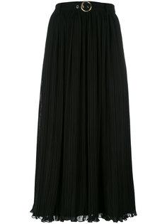плиссированная юбка миди Kenzo