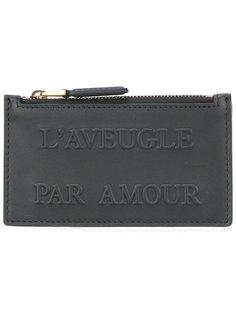 визитница LAveugle Par Amour Gucci