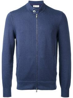 куртка на молнии Brunello Cucinelli