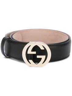 ремень с пряжкой GG Gucci