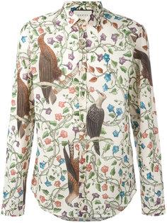 рубашка с принтом  Gucci