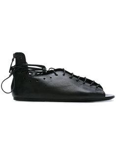 сандалии со шнуровкой Marsèll