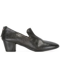 туфли с молниями сзади Marsèll