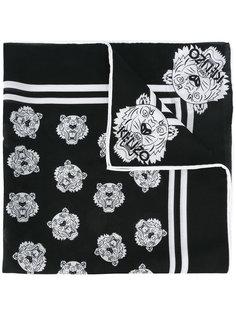 шарф с тиграми Kenzo