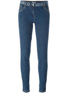 джинсы кроя скинни   Kenzo
