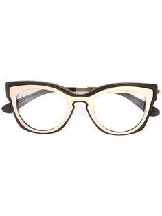 очки в оправе кошачий глаз Dolce & Gabbana