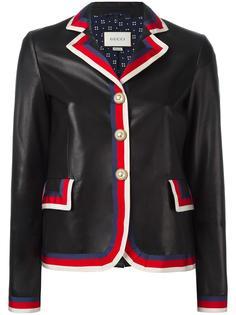 куртка с отделкой Sylvie web Gucci