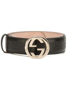 ремень с пряжкой-логотипом Gucci