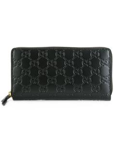 кошелек с фирменной молнией Gucci