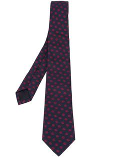 галстук с монограммной вышивкой Gucci