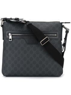сумка-мессенджер с монограммами Gucci
