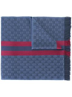 жаккардовый шарф GG Gucci