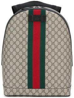 рюкзак с полосатой лентой Gucci