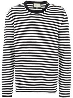 свитер в полоску  Gucci