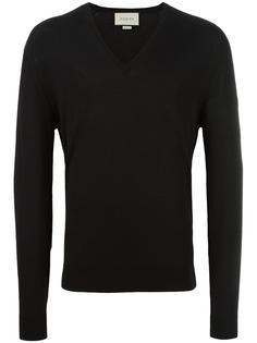 свитер c V-образным вырезом   Gucci
