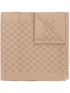 шарф с логотипом Gucci