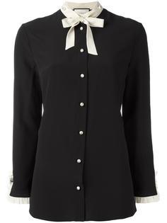 рубашка с завязками на бант Gucci