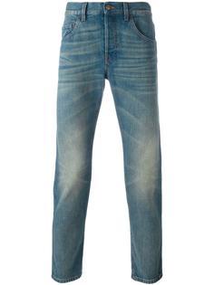 укороченные джинсы кроя слим Gucci