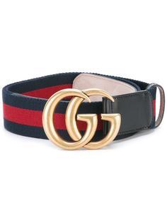 ремень с бляшкой-логотипом  Gucci