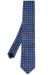 галстук с вышитым логотипом Gucci