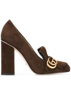 туфли на массивном каблуке  Gucci