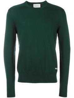 тканый свитер с круглым вырезом Gucci