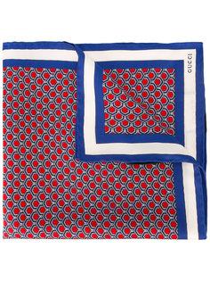 нагрудный платок с геометрическим принтом Gucci