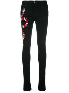 джинсы кроя скинни   Gucci