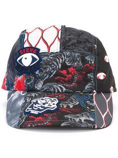 кепка с принтом символов Kenzo
